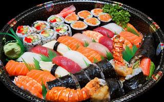 Sushi Udang Sayur