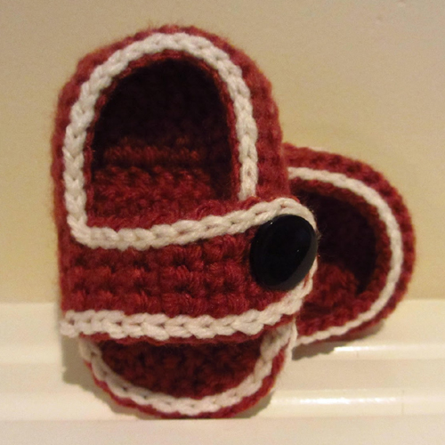 Comfy Baby Sandals - Free Pattern