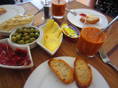 Bahan Pembuatan Gazpacho