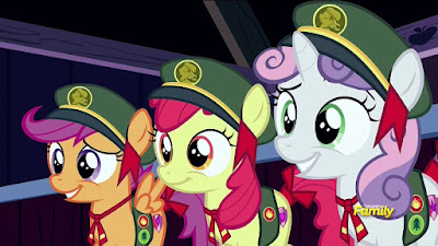 The Cutie Mark Crusaders as Filly Guides