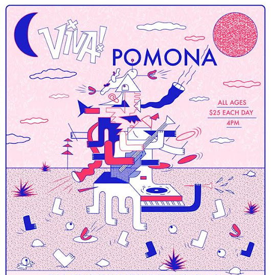 ON SALE! Viva! Pomona is turning 7 years August 18&19 with Surf Curse and The Marías