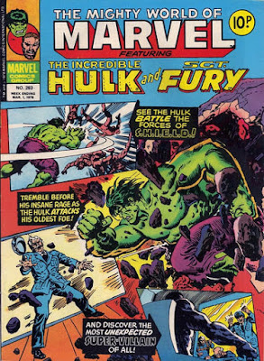 Mighty World of Marvel #283, the Hulk