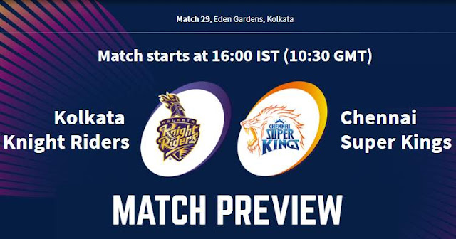 VIVO IPL 2019 Match 29 KKR vs CSK Match Preview, Head to Head and Trivia