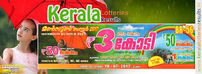 "Kerala Lottery Result; 19-07-2017 ""Monsoon Bumper Lottery Results"" BR-56 http://www.keralalotteriesresults.in/2017/07/19-br-56-monsoon-bumper-2017-prize-structure-today-19-07-2017-kerala-lottery-result.html"