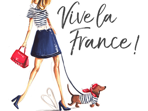 Daily Illustration: Vive la France!
