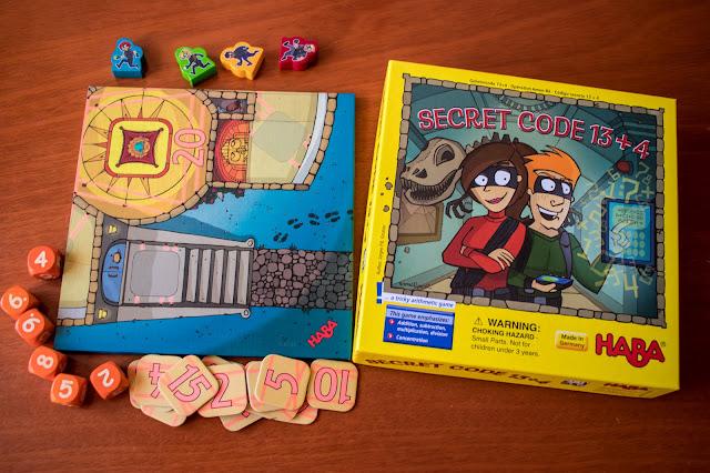 recenze hry Secret Code 13+4