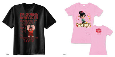 Wreck It Ralph prize pack