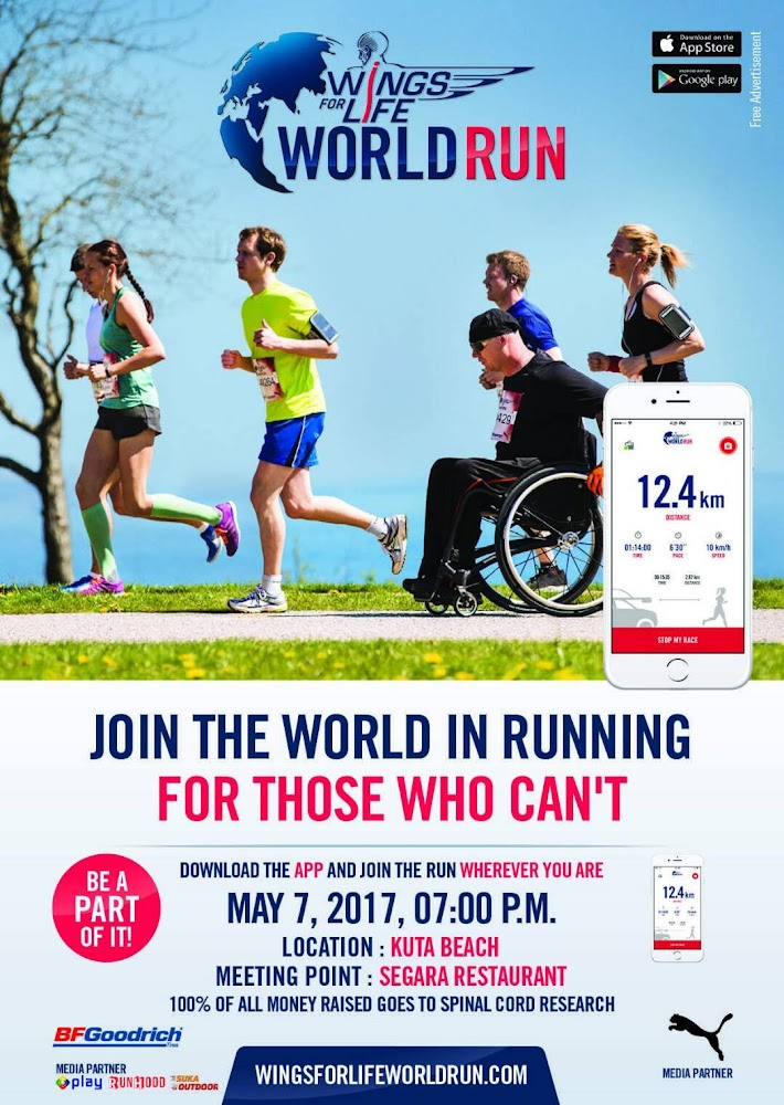 Wings for Life World Run • 2017