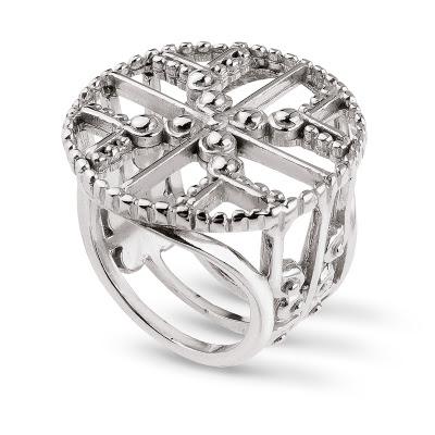 WKRUK pierścionek ażurowy Odeseja biżuteria Anna Orska blog biżuteryjny
