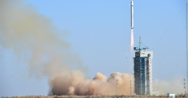 Long March 2D lifts off with LKW-3 on January 13. Photo Credit: Xinhua/Wang Jiangbo