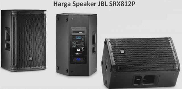 Harga Speaker Aktif JBL SRX812P