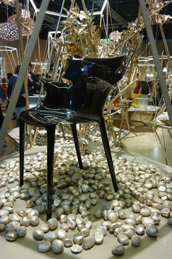 podio Salones 16 y 20 en la Feria de Miln