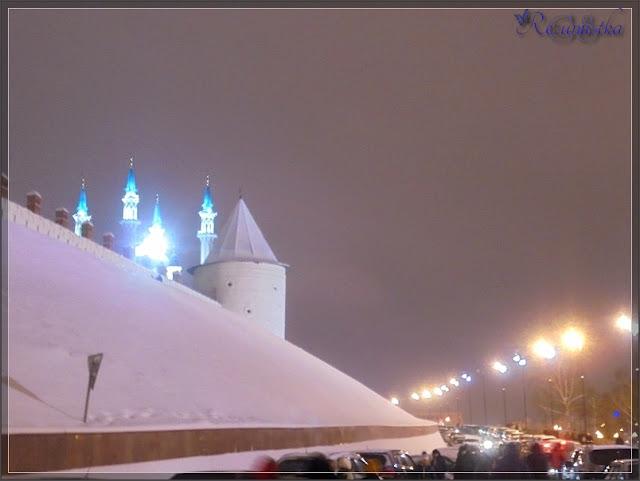 пешеходная дорожка вдоль Кремля до набережной
