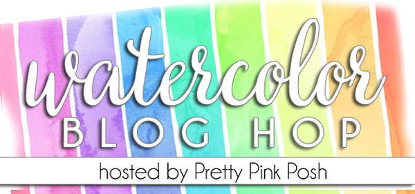 Pretty Pink Posh's Watercolor Blog Hop