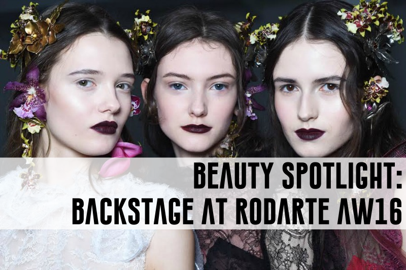 nars beauty makeup backstage rodarte aw16 fall