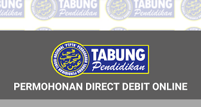 Permohonan Bayaran Balik PTPTN Direct Debit Online
