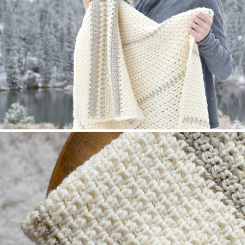 Mod Heirloom Crochet Blanket - Free Pattern