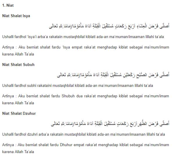 5+ Tata Cara Bacaan Sholat, Sholat Jenazah,Tahjud Lengkap ...
