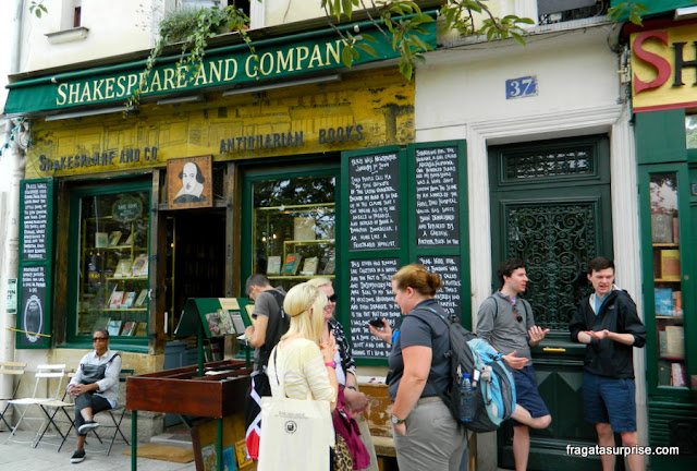 Paris, Livraria Shakespeare and Company
