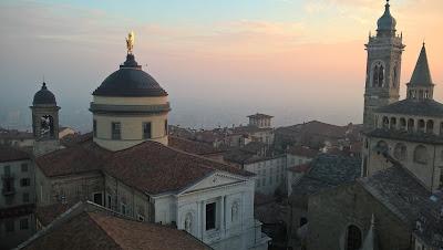 Città Alta from the Camponone Torre Civica