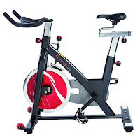 Sunny Health & Fitness SF-B1002C Chain-Drive Indoor Cycle Spin Bike, review features compared with SF-B901 Pro, with 49 lb flywheel