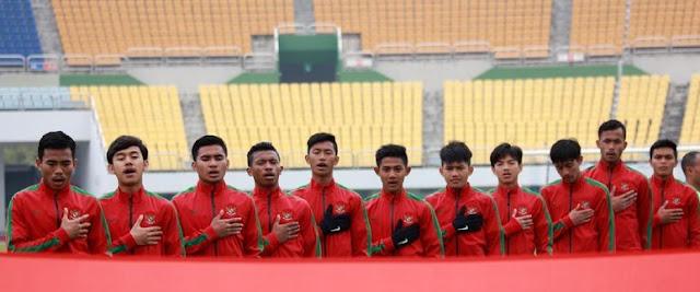 Kualifikasi Piala Asia U-19: Indonesia Ditundukkan Korsel 0-4