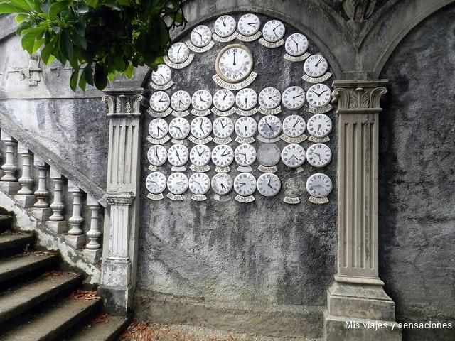 Relojes, Parque del pasatiempo