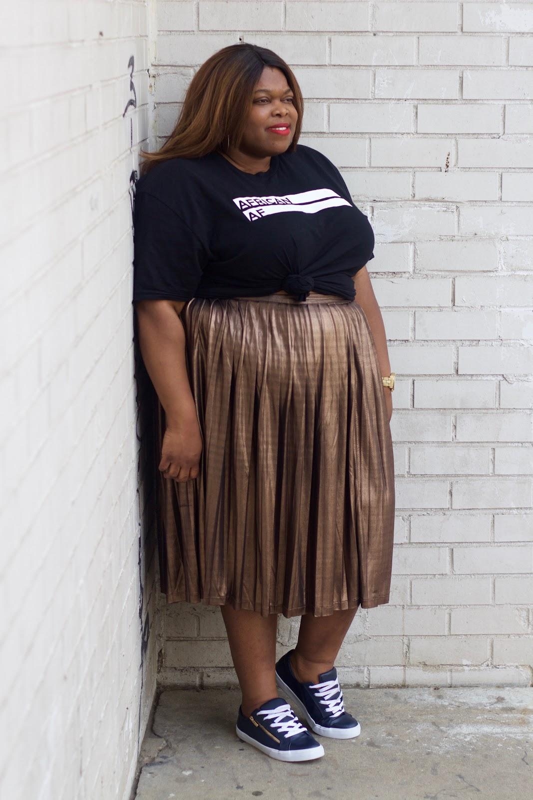 plus size style nigerian blogger