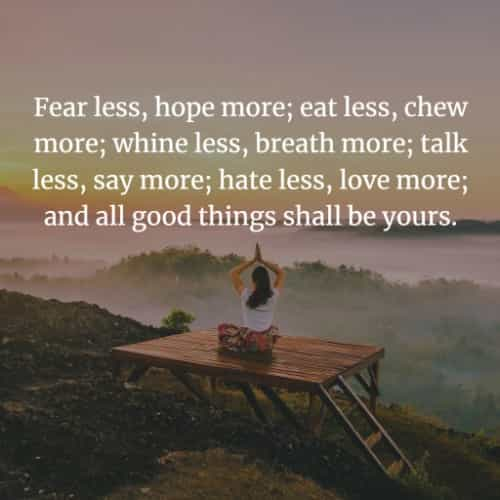 short inspirational quotes about life