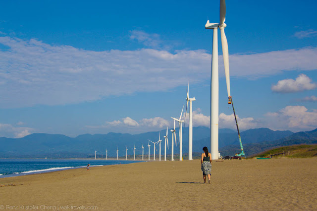 Photography in Bangui Wind Farm, Ilocos Norte