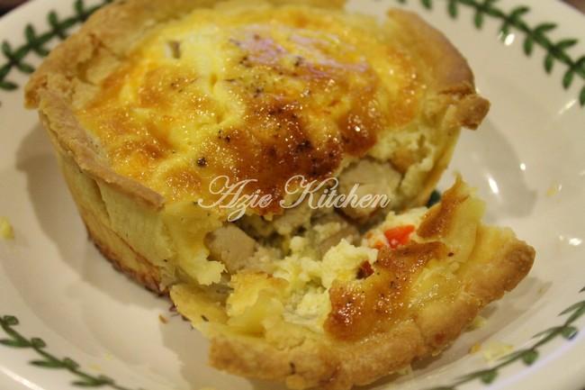 Quiche Chicken Mushroom