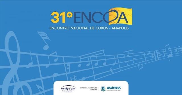 Anápolis: Encontro Nacional de Coros começa hoje, 18
