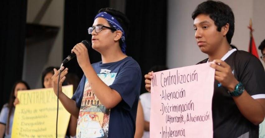 PAPA FRANCISCO EN PERÚ: Escolares le entregarán documento sobre discriminación y descentralización - www.papafranciscoenperu.pe