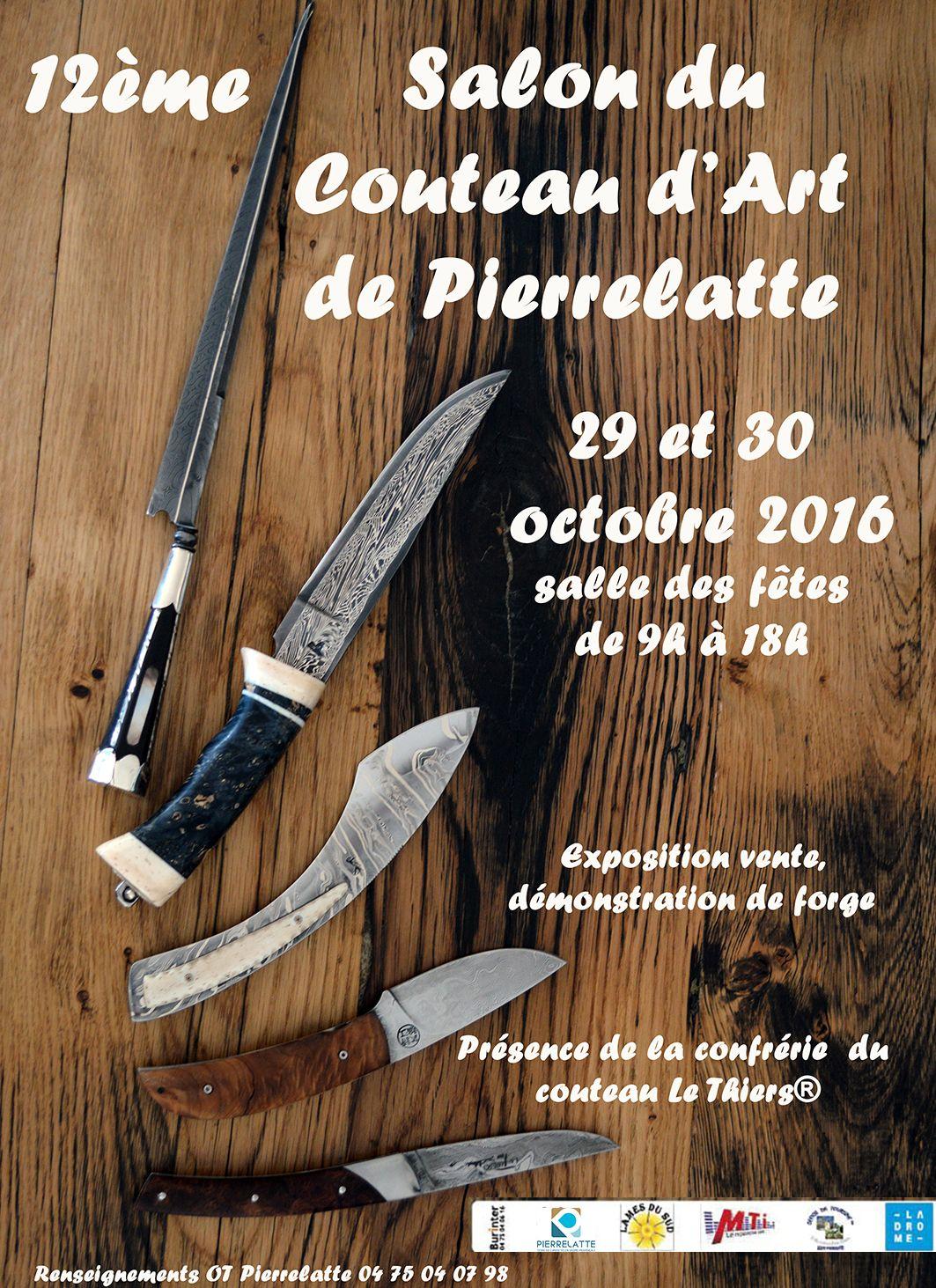 salon du couteau d 39 art de pierrelatte 2016