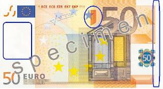 Αλλάζουν τα χαρτονομίσματα του ευρώ