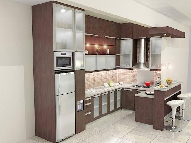 Dapur Minimalis Sederhana Ukuran 2x3