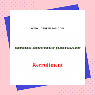 Erode PDJ Court Recruitment 2019 for various posts (102 Vacancies)