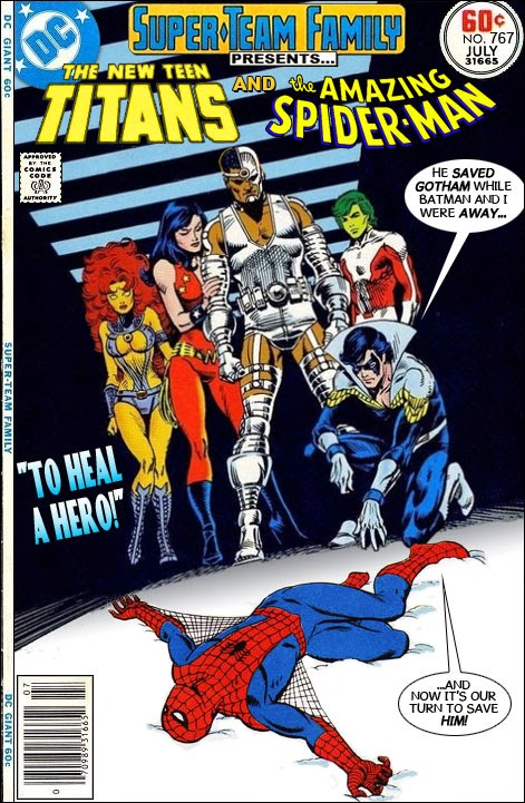The New Teen Titans and Spiderman