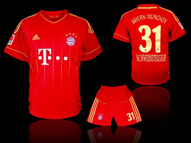 timeless design 96cca 40b67 Bastian Schweinsteiger Bayern Munich Jersey
