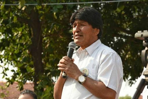 Evo condena complicidad del secretario de la OEA con corruptos