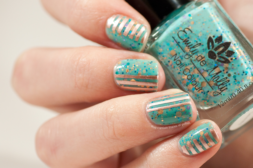 40 Great Nail Art Ideas - Turquoise Nail Art - May contain traces of polish - 40 Great Nail Art Ideas - Turquoise Nail Art - May Contain Traces Of
