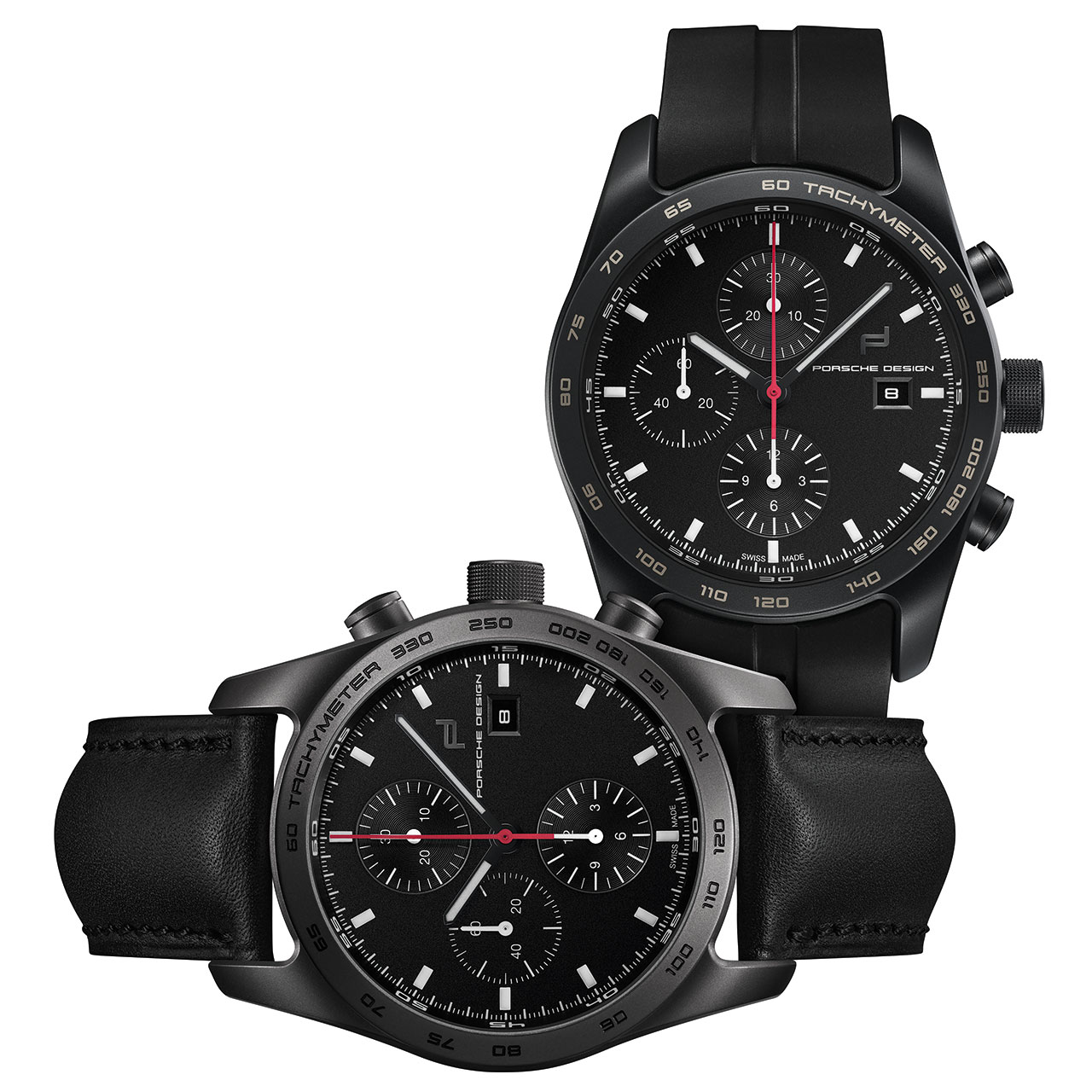 Porsche Design Timepiece No. 1 and Chronograph Titanium Limited Edition