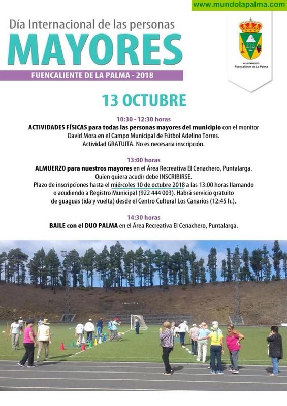 Día internacional de las personas Mayores en Fuencaliente