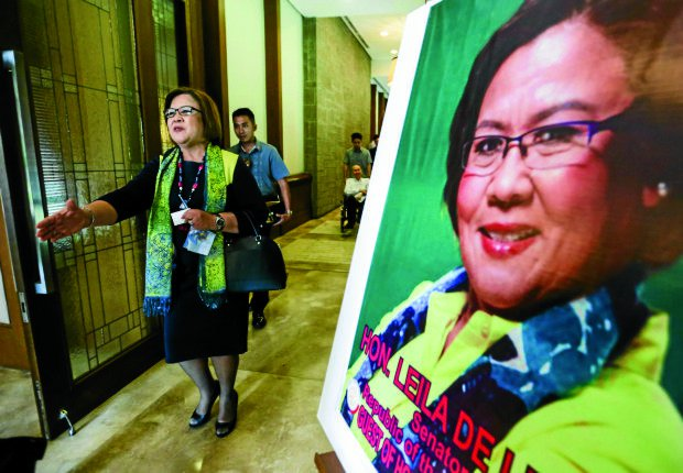 De Lima to DOJ chief: You will pay