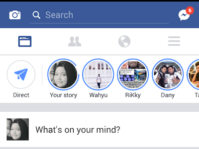 Cara Memposting Foto dan Video di Facebook Direct Story Terbaru
