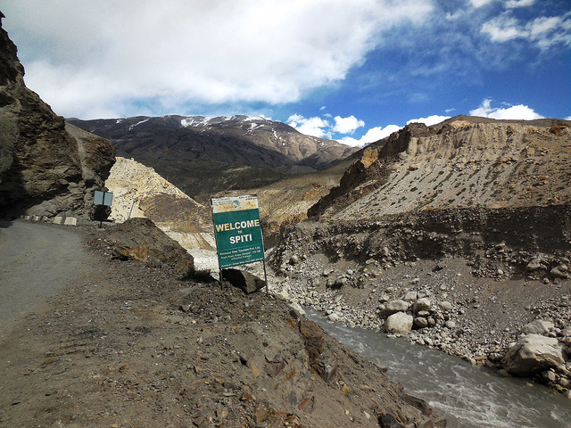 Now we technically enter Spiti valley