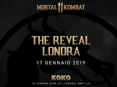 Mortal Kombat 11 - The Reveal Londra