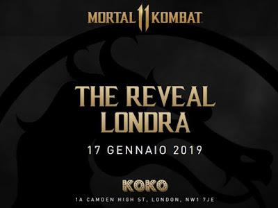 Mortal Kombat 11 - The Reveal Londra