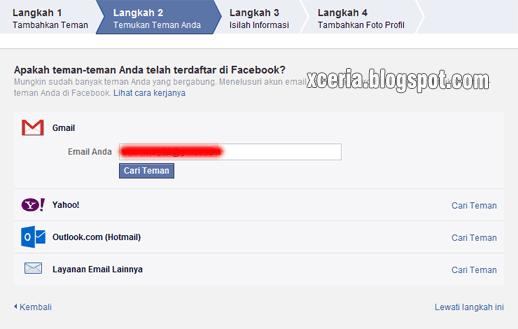 Cara Membuat Facebook - Temukan Teman