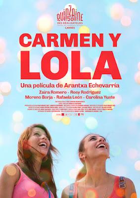 CARMEN Y LOLA - pelicula de Arantxa Echevarría - cartel